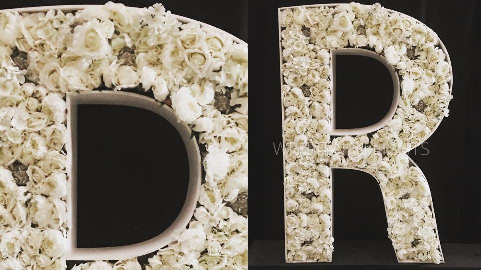 Floral LOVE & Alphabet